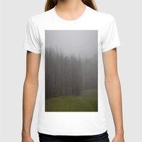 fog T-shirts featuring Fog by Alyson Cornman Photography