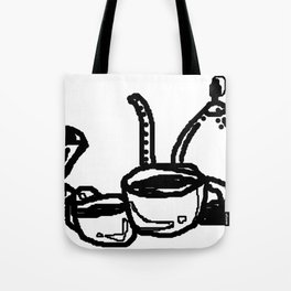 Coffee Is My Friend Tote Bag