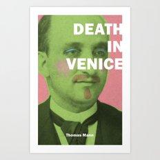 Death in Venice Art Print