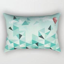 Emerald City (Blue Sky Version) Rectangular Pillow