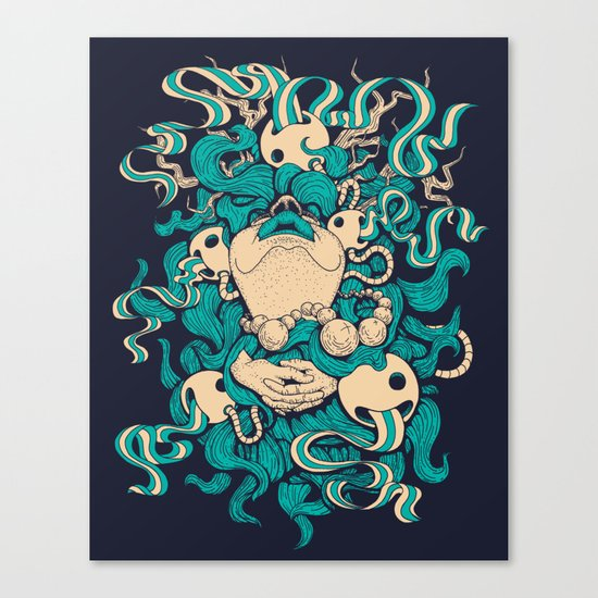 Exemption Canvas Print