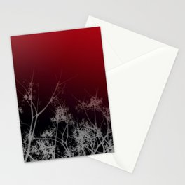 Tree Top-Red Stationery Cards