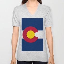 Colorado State Flag Unisex V-Neck