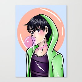 Haikyuu - Kageyama Canvas Print