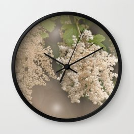Ethereal Blooms Wall Clock