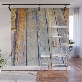 Floorboards Wall Mural