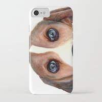 beagle iPhone & iPod Cases featuring Beagle by Carmen Lai Graphics