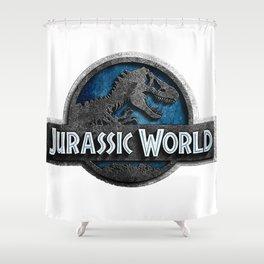 Jurassic World Shower Curtain