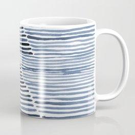 Rosario Watercolor Print in Blue Coffee Mug