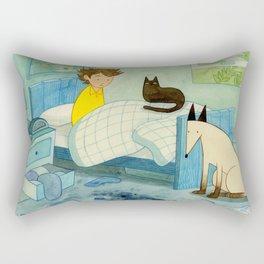 Lost 1 Rectangular Pillow