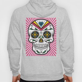 High Rolling In Your Face Dias De Los Muertos Smiling Skull Hoody