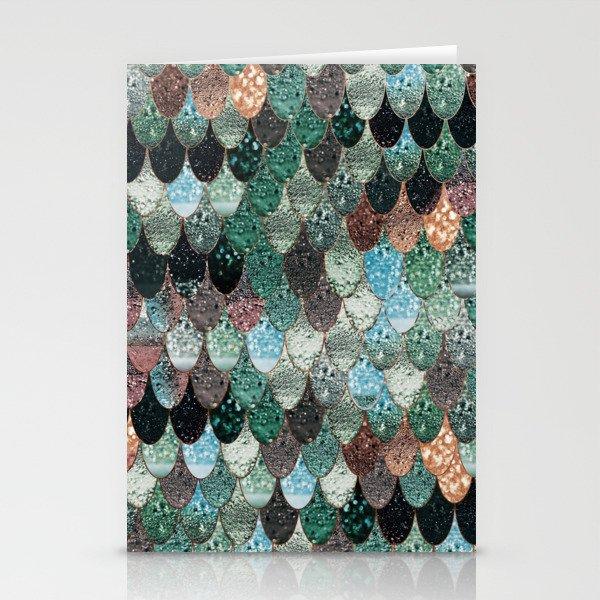 SUMMER MERMAID SEAWEED MIX by Monika Strigel Stationery Cards