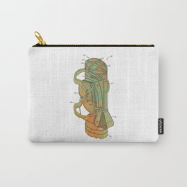 Golf Bag Patent Carry-All Pouch