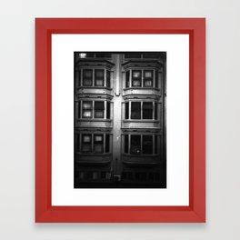 Boxed up Framed Art Print