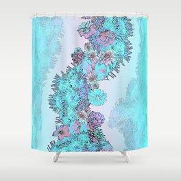 Reef Magic Shower Curtain