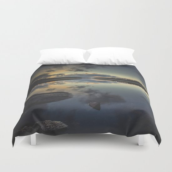 Speechless Duvet Cover