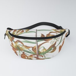 Plantae Selectae No 11-Lily by Georg Dionysius Ehret Fanny Pack