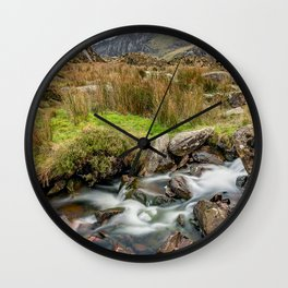 Tryfan Snowdonia National Park Wall Clock