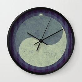 Iapetus - Yin Yang Terrain  Wall Clock