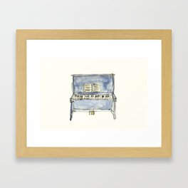 The Piano Framed Art Print