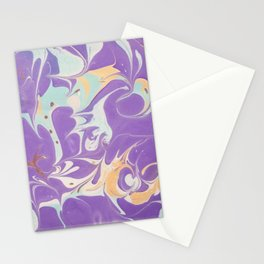 Marble 8 Stationery Cards