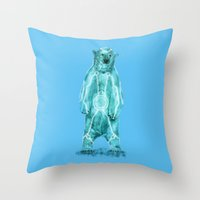 tron Throw Pillows featuring Tron by Sarinya  Withaya