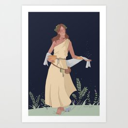 circe - greek mythology Art Print