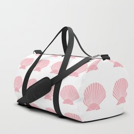 Coral Seashell Duffle Bag