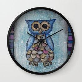 Owl Hoot Wall Clock