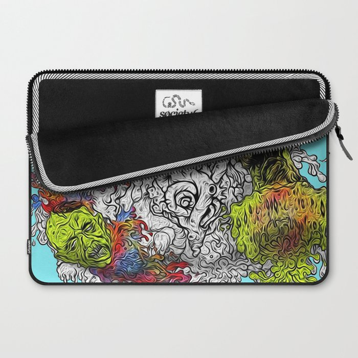 The Painting Dead Laptop Sleeve
