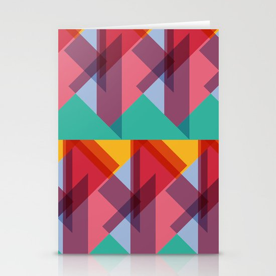 Crazy Abstract Stuff 3 Stationery Cards