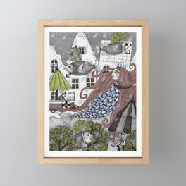 Rainy Days Framed Mini Art Print