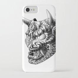 Japanese Demon Mask v.1 iPhone Case