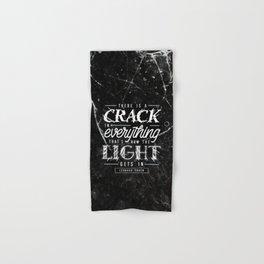 Crack Hand & Bath Towel