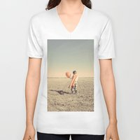 super hero V-neck T-shirts featuring Super Hero by short stories gallery