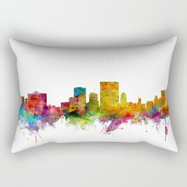 El Paso Texas Skyline Rectangular Pillow