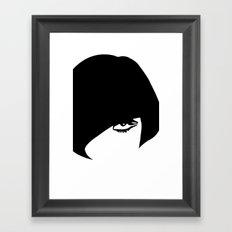 peggy Framed Art Print