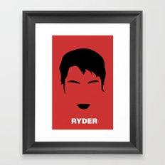 RYDER Framed Art Print