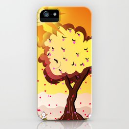 Under the tree part II iPhone Case