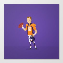 Manning The Great Canvas Print
