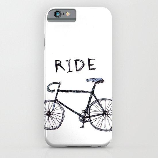 bike ride iPhone & iPod Case