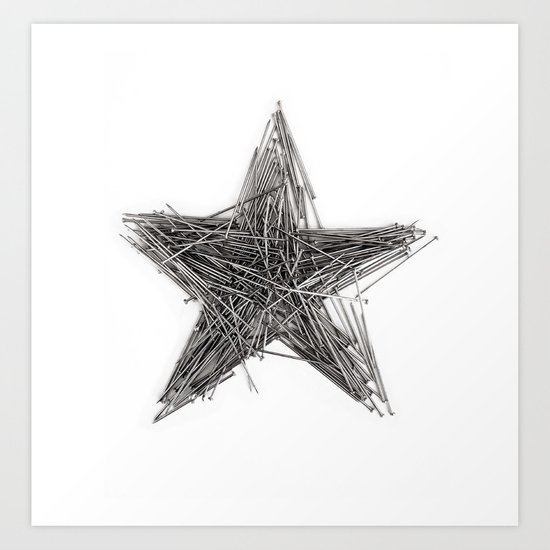 WRONG STAR Art Print