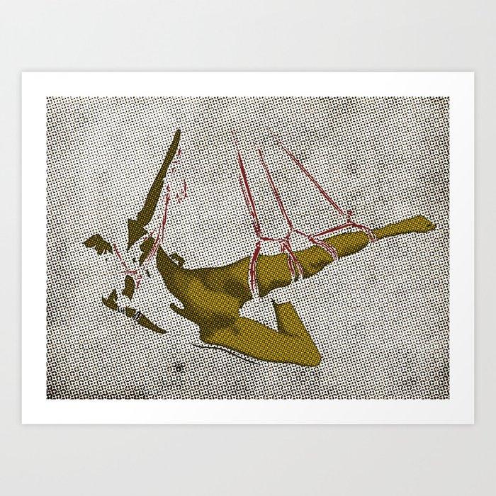 The hanging girl I Kunstdrucke