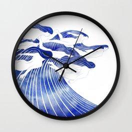 Seven Nereids Wall Clock