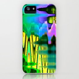 Peaks and Valleys iPhone Case