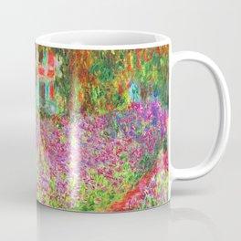 The Artist's Garden at Giverny - Claude Monet 1900 Coffee Mug
