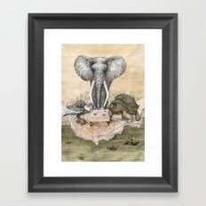 Council of Animals Framed Art Print