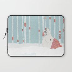 A cold winter for bunnies Laptop Sleeve