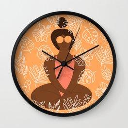 UrbanNesian Good Vibes Suga Wall Clock