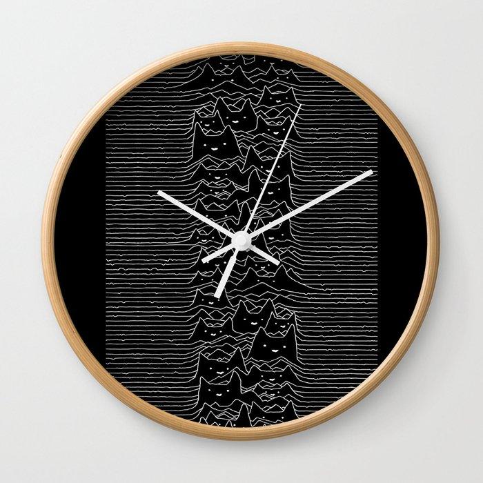Furr Division Cats Wall Clock